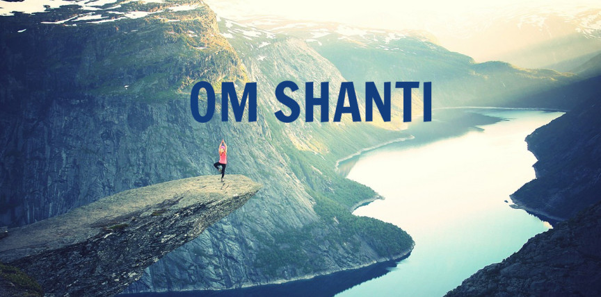om shanti mantra peace path